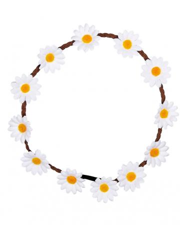 Hippie flower hair band