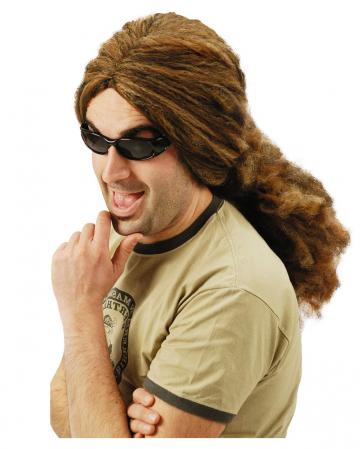 Brown Rasta Wig Shoulder-length