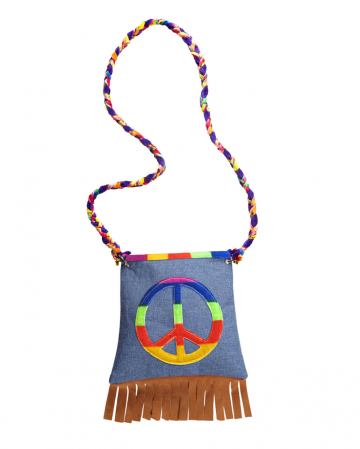Hippie Bag Costume Accessories