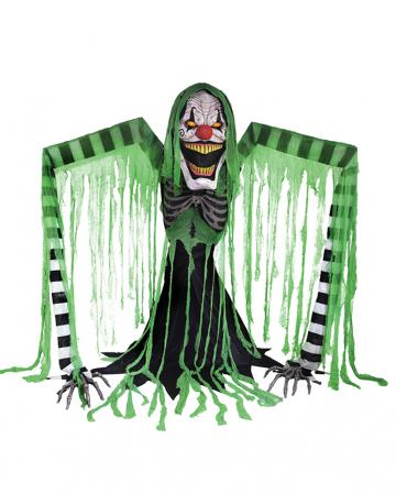 Hell Clown Halloween Animatronic