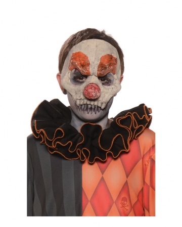 Horror Clown Halbmaske