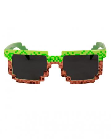 Pixel Scherzbrille 8 bit