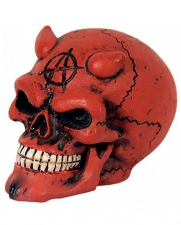 Knob with devil