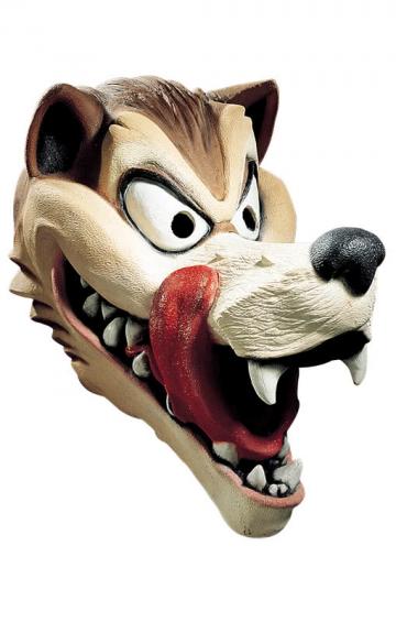 Hungriger Wolf Maske