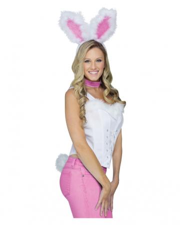Sexy Bunny Set white-pink