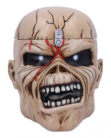 "Iron Maiden ""The Trooper"" Storage Skull"