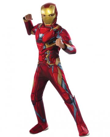 Iron Man Muscle Kids Costume