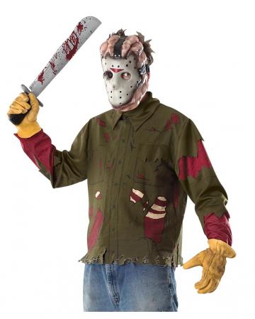 Jason Shirt, Mask And Machete