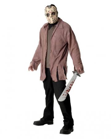 Jason Voorhees Mask & Jason Shirt