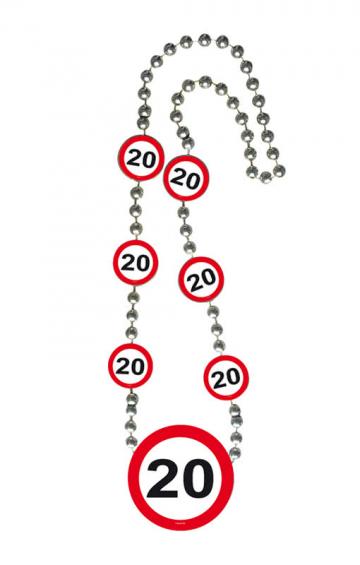 Chain Traffic Sign 20