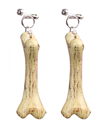 Stone Age bone earrings