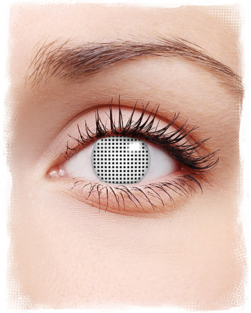 Contact Lenses White Net
