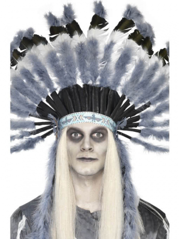 Indianer Kopfschmuck Ghost Town