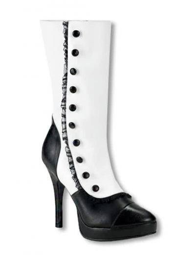 Plateau Boots white