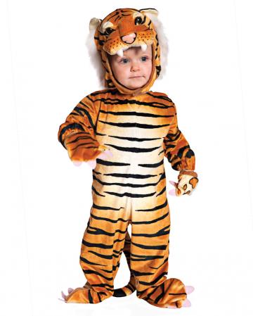 Kuschel Tiger Kleinkinderkostüm