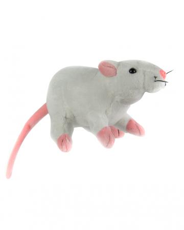 Cuddly Toy Rat 19cm White
