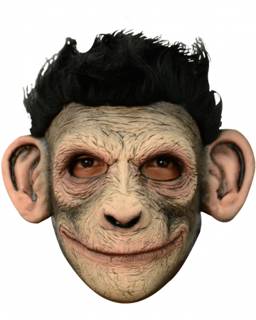 Chimpanzee Mask With Fake Fur