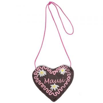 Gingerbread Heart Bag