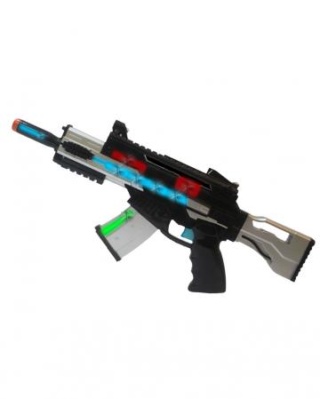 LED Machine Gun Blaster mit Sound & Licht