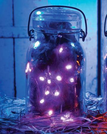 LED Lichterkette lila 235cm
