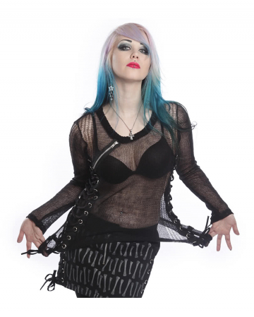 Miss Krueger Pullover schwarz