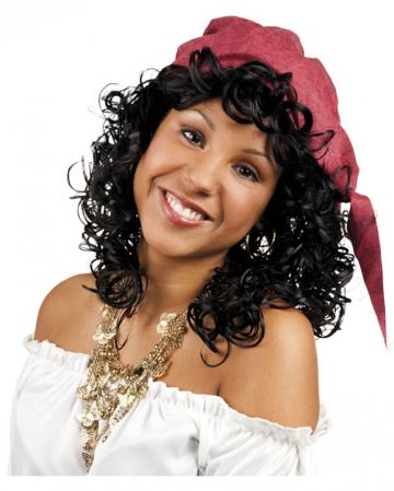 Curly Wig Esmeralda black