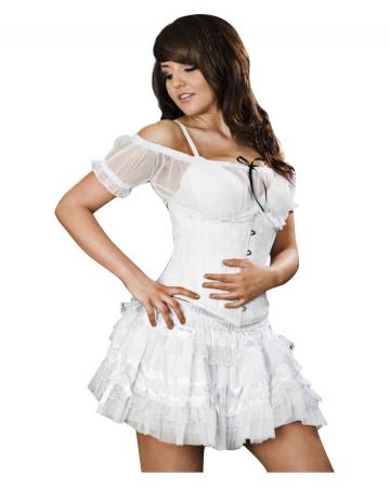 Gothic Lolita Skirt white