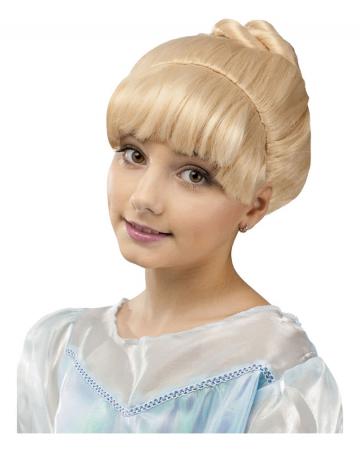 Märchenprinzessin Kinderperücke Blond