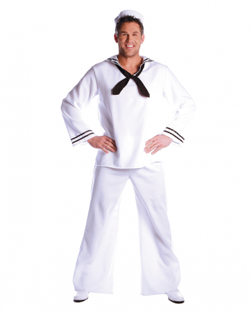 Sailor Costume with Hat Premium