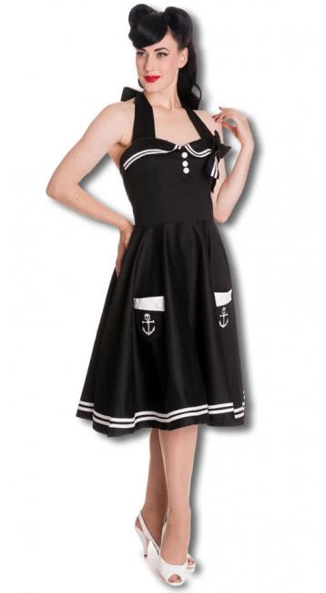 Sailors petticoat dress black