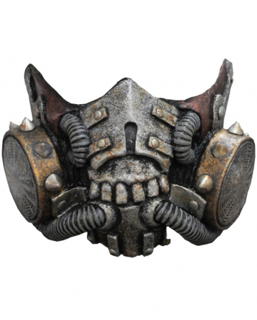 Doomsday latex gasmask