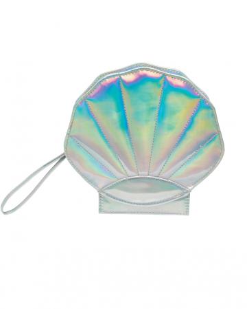 Meerjungfrauen Holo Muschel Handtasche