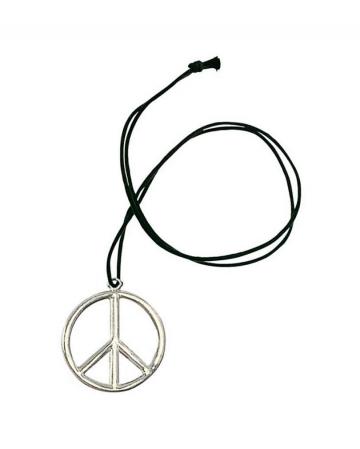 Metal Hippie Pendant Peace
