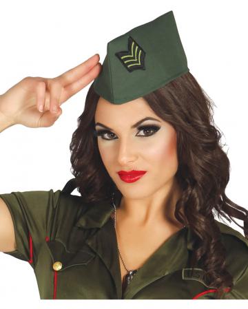 Officer's Cap Green