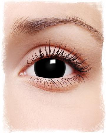 Mini-Sclera Kontaktlinsen schwarz