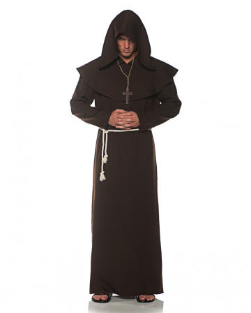 Monk's robe costume brown