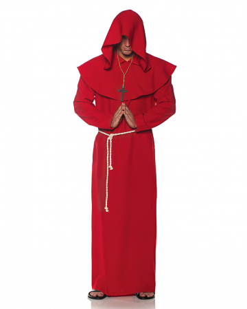 Monk's robe costume red