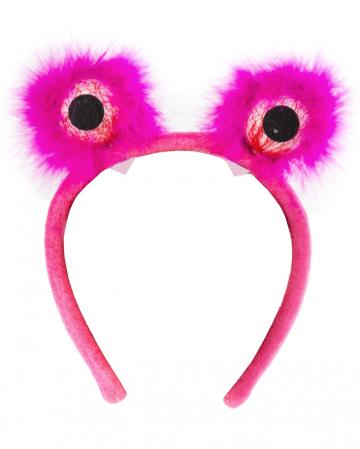 Monster Eyes Hairy Pink