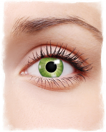 Motif Contact Lenses Electric Green