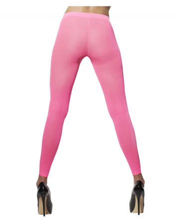 Neon pink leggings