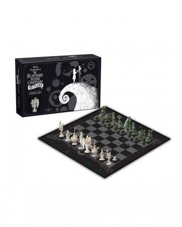 Nightmare Before Christmas Collectors Chess Set