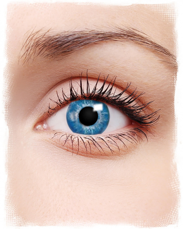 Ocean Blue contact lenses