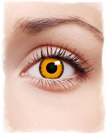 Orange Werewolf Kontaktlinsen
