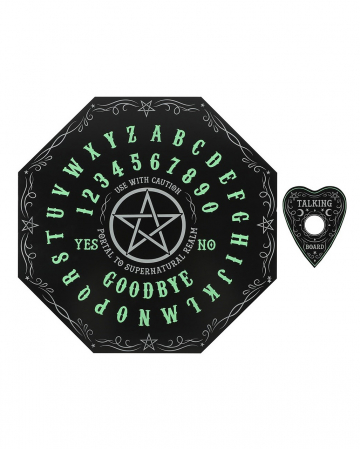 Ouija Octagon Wahrsagebrett Glow in the Dark