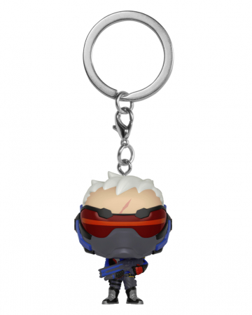 Overwatch Soldier 76 Keyring Pocket POP