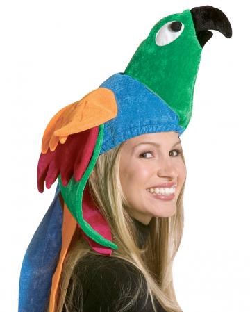 Papagei Hut
