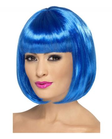 Partyrama Bob Wig Blue
