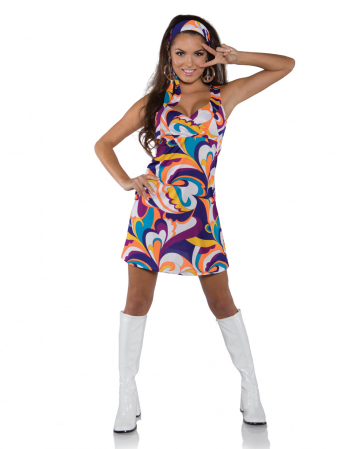 Hippie Peace Mini Dress