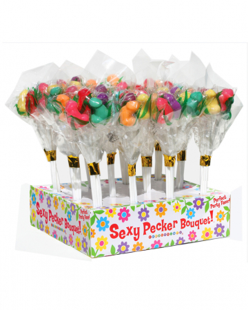 Penis Lollipop Bouquet 6 Pcs.