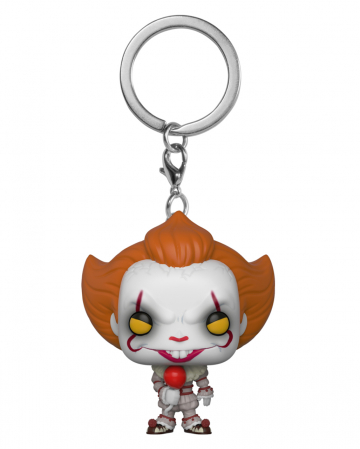 Pennywise With Balloon Key Ring Pocket POP